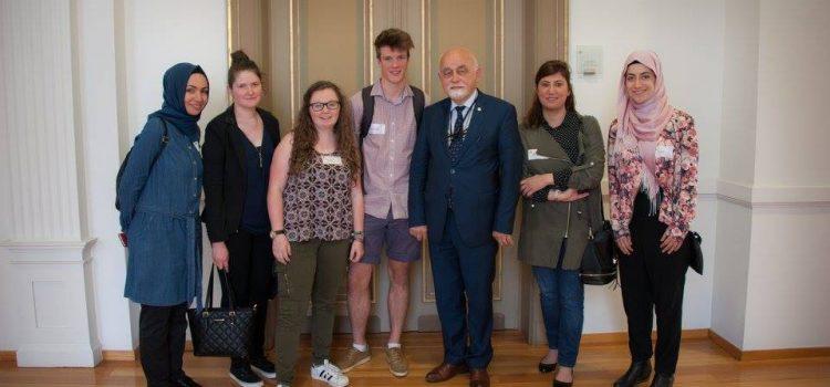 Bezoek aan het Vlaams Parlement